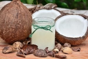 giving your cat coconut water
